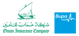 Oman Insurance Company and Bupa Global logos