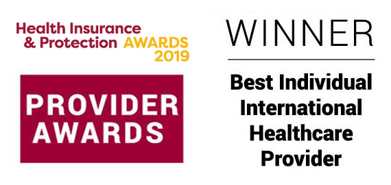 Bupa Global wins Best Individual Healthcare Provider at the Health Insurance & Protection Awards 2019