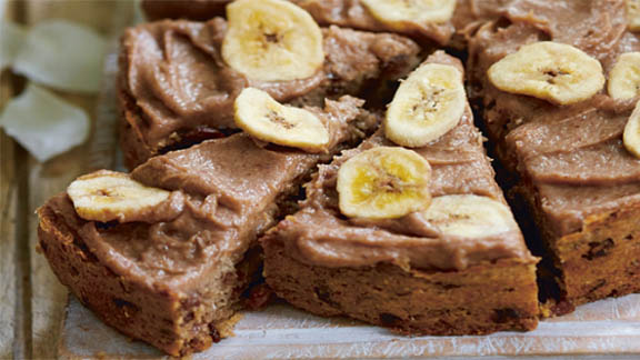 Deliciously Ella's banana cake