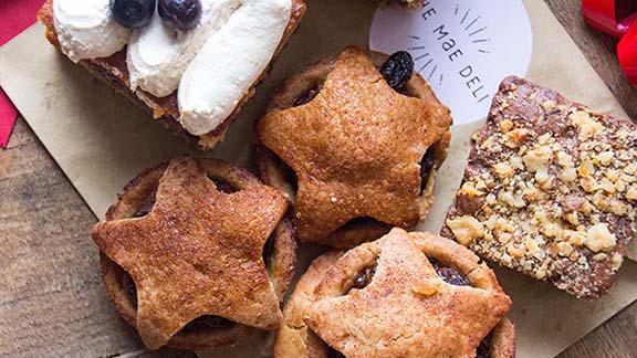 Deliciously Ella's mince pies